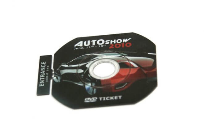 CD DVD билет | CD DVD ticket