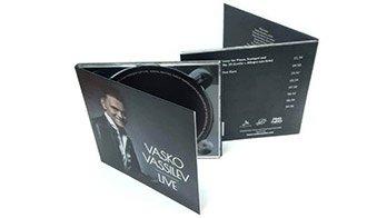 CD DVD Vasko Vassilev Live