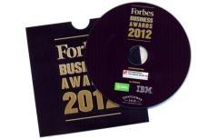 FORBES business awards 2012 - CD с печат и запис в картонена опаковка