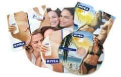 NIVEA - дискове с печат и запис в картонени опаковки