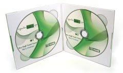 Nestle - запис и печат на CD луксозна опаковка с твърди корици M-PACK за два диска