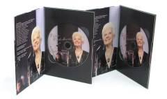 Р. Кабаиванска - дизайн на диск и опаковка, печат и запис на DVD, производство на луксозна опаковка с твърди корици M-PACK