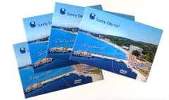 Sunny day - печат и запис на mini DVD в  опаковка картичка DVD postcard