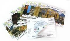 Виж България - поредица mini DVD в опаковка DVD картичка